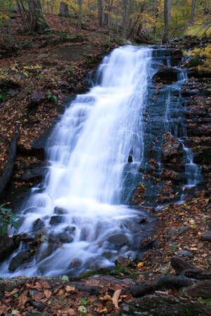 douglas: The Douglas Falls in Delaware Water Gap recreation area Stock Photo