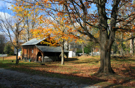 Historic Millbrook Village in Delaware water gap recreation area photo