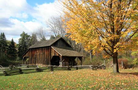 earlier: Historic Millbrook Village in Delaware water gap recreation area