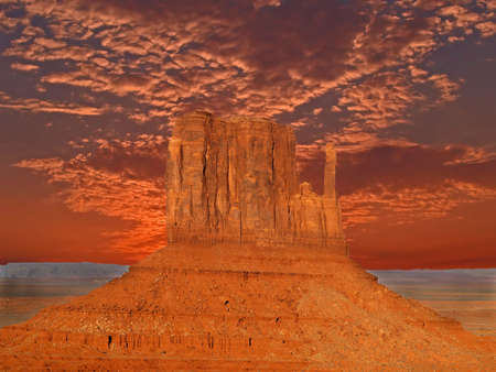 tribal park: The Monument Valley Navajo Tribal Park in Utah