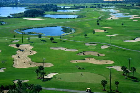 A golf course resort in the United States of America Stock Photo - 2072561