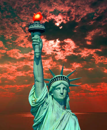 The Statue of Liberty in New York City photo