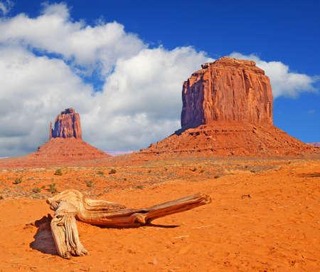 Monument Valley Navajo Tribal Park in Utah Stock Photo - 2366163