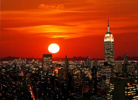 The New York City midtown skyline, USA Stock Photo - 2366204