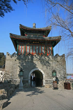 tourist spot: The top tourist spot - Bei-Hai (North-Lake) Park in the center of Beijing
