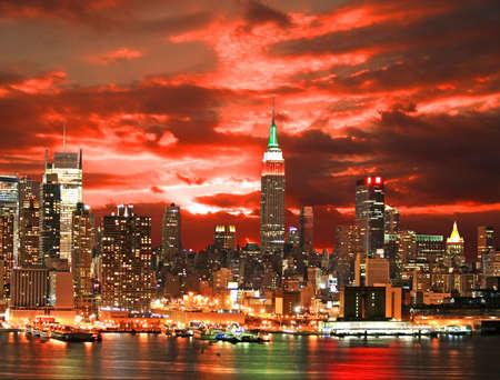 times: Midtown Manhattan skyline, New York City