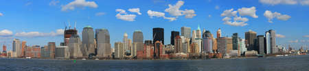The Panorama View of Lower Manhattan Skyline � extreme large detailed image suitable for poster print