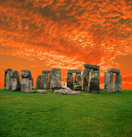 The Stonehenge in UK, it is still a mystery photo
