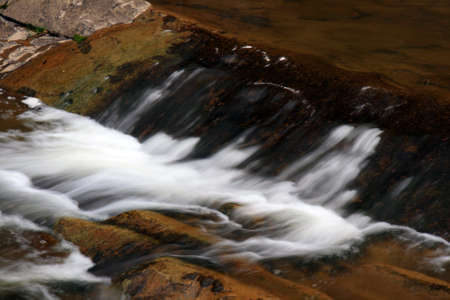 great smoky national park: Water streams and cascades in the Great Smoky Mountain National Park  Stock Photo