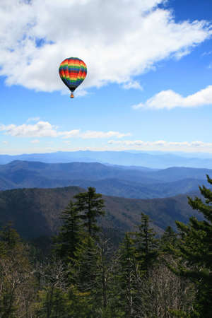 great smoky national park: The Great Smoky Mountain National Park in the morning