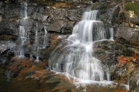 laurel mountain: Laurel Falls in the Great Smoky Mountains National Park in spring
