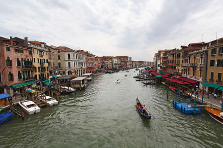 italien: The scenery along the Grand Canal in Venice Italy