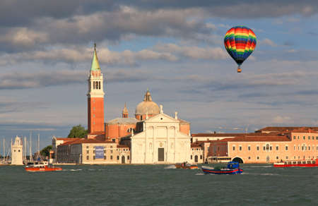 The San Giorgio Maggiore Church in Venice Italy photo