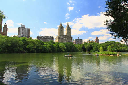 The Central Park in New York City