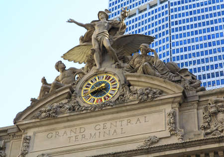 The Grand Central Station in New York City Stock Photo