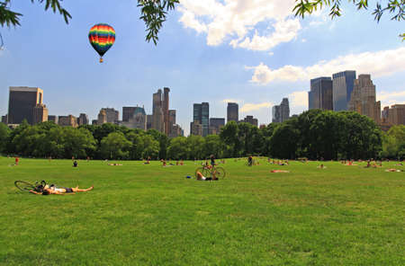 The Great Lawn in Central Park New York City Stock Photo - 3323230