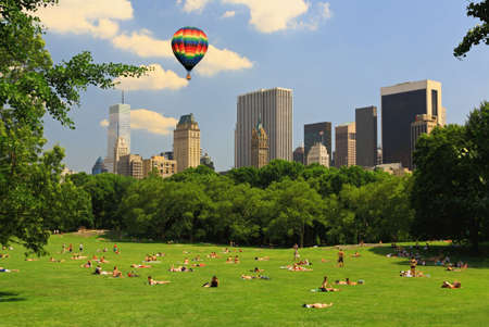 The Great Lawn in Central Park New York City Stock Photo - 3323226