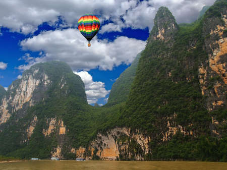 yunnan: A scenery landscape of  the southern China Stock Photo