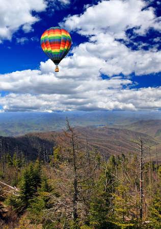 great smoky national park: A scenery landscape of  the Great Smoky Mountain National Park Stock Photo