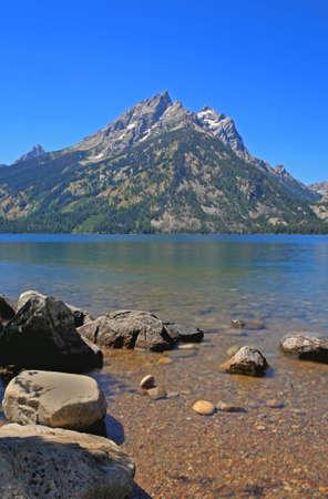 jenny: Jenny Lake in Grand Teton National Park