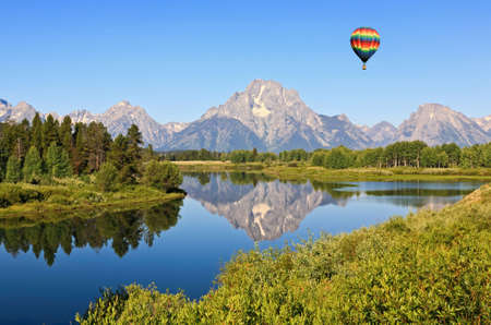 The Grand Teton National Park in Wyoming USA Stock Photo - 3763675