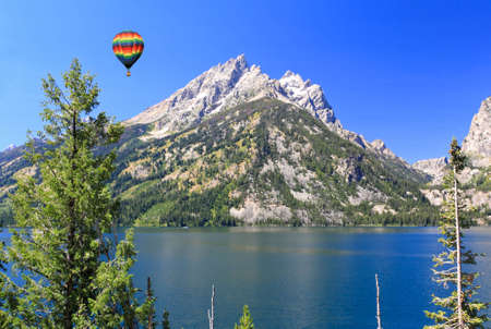 The Grand Teton National Park in Wyoming USA photo