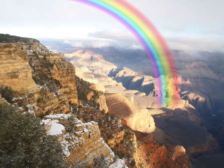 canyons: The Grand Canyon National Park in Arizona US