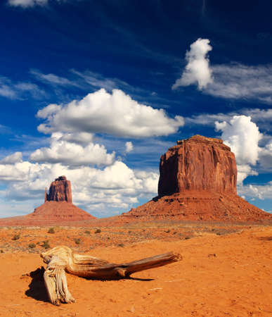 tribal park: Monument Valley Navajo Tribal Park in Utah  USA