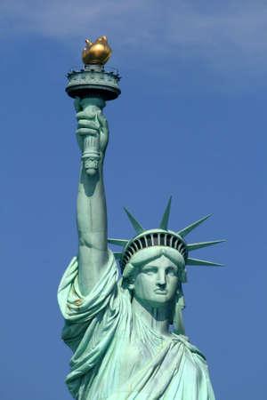 liberty island: La Statua della Libert�, New York City Archivio Fotografico