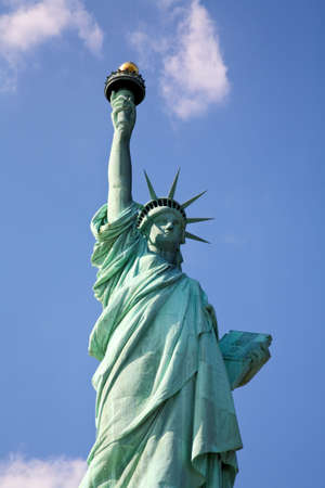 The Statue of Liberty in New York Harbor Stock Photo - 4702881