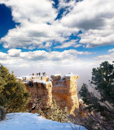 rock strata: Grand Canyon National Park in Arizona, USA    Stock Photo