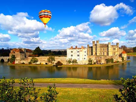 The leeds castle the coutryside of England Reklamní fotografie