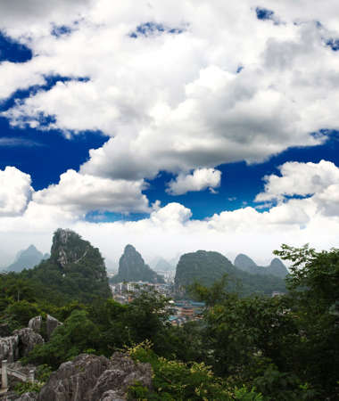 yunnan: The scenery of Guilin City in southern China