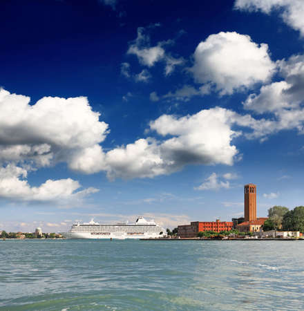 The scenery of other Island in Venice Italy