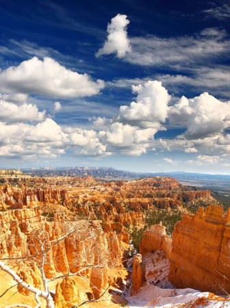The Bryce Canyon National Park in Utah USA     photo