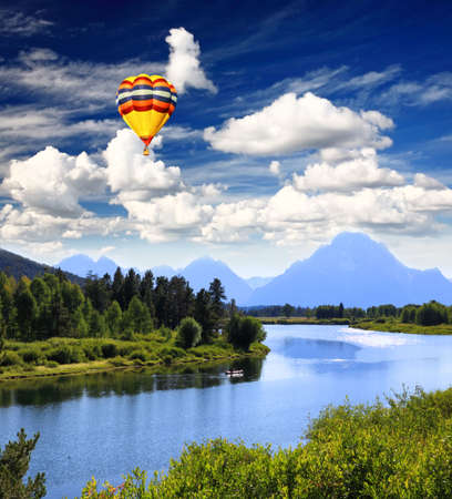 oxbow: The Grand Teton National Park, USA
