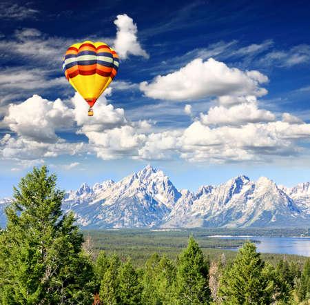The Grand Teton National Park, USA photo