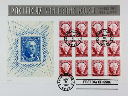 first day: The first day issue of stamps of Pacific 92 - Washington