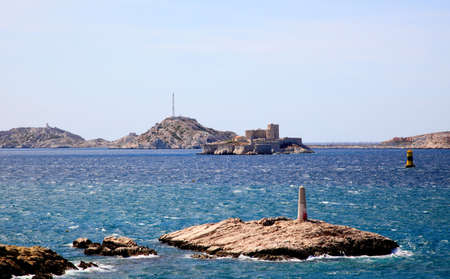 ancient prison: ancient prison on the island If near Marseille, France
