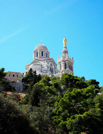 Cathedral Notre Dame in Marseille City, France Stock Photo - 5745299