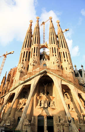sagrada: The Sagrada Familia Church in Barcelona