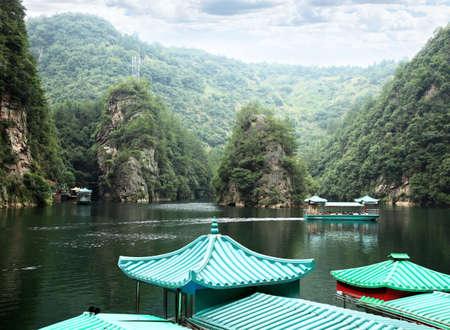 The BaoFeng Lake in ZhangJiaJie a national park in China