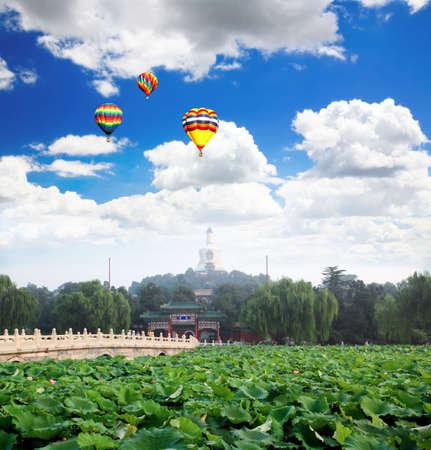 北海 (北海) 公園、紫禁城北京近郊ロイヤル リトリート