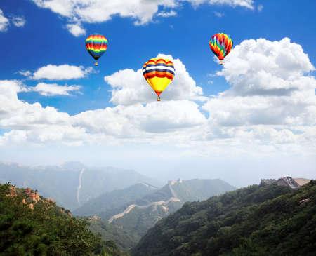 badaling: The Great Wall at Badaling near Beijing, China
