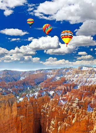 bryce: The Bryce Canyon National Park in Utah USA     Stock Photo
