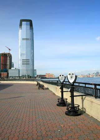 ニュージャージー州の高層オフィスビル 写真素材 - 6345865
