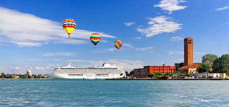The scenery of other Island in Venice Italy Stock Photo