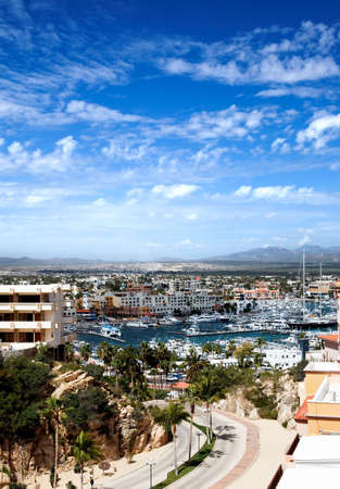 timeshare: Marina and downtown Cabo San Lucas, Mexico