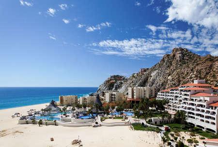 lucas: Condos and apartments in Cabo San Lucas, Mexico   Stock Photo