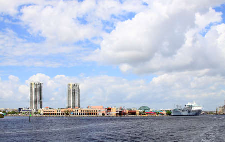 The city skyline of Tampa Florida on a cloudy day   Stock Photo - 6803058